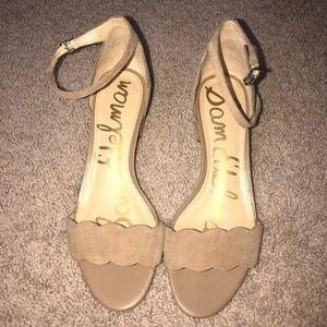 95061a92bcd Sam Edelman Shoes - Sam Edelman inara scalloped block heels